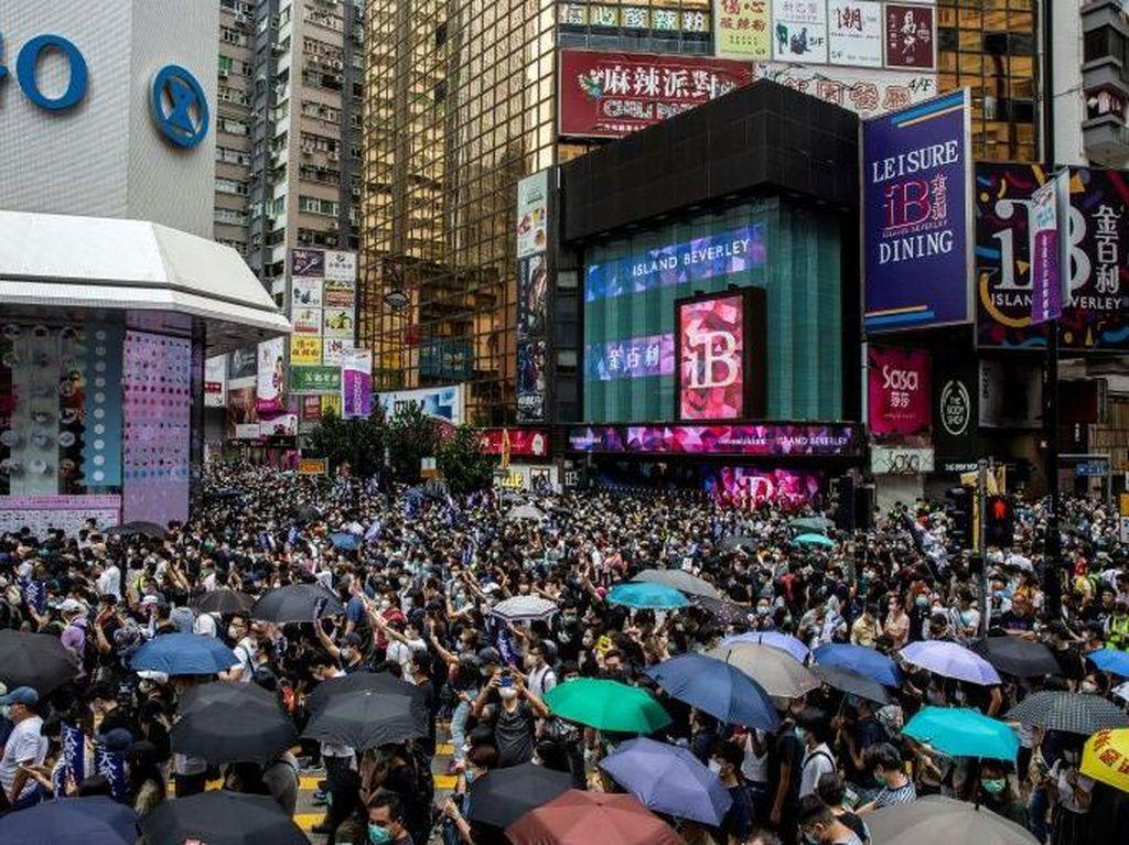 Di Tengah Pandemi Corona, Demo Hong Kong Ricuh Lagi