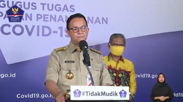 Gubernur DKI Jakarta Anies Baswedan (YouTube BNPB)