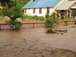 7 Rumah dan 1 Gereja di Kulawi Sigi Terendam Banjir