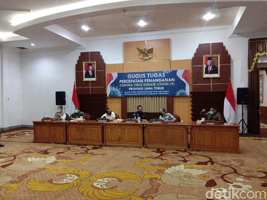 Kasus Positif COVID-19 Masih Tinggi, PSBB Surabaya Raya Diperpanjang