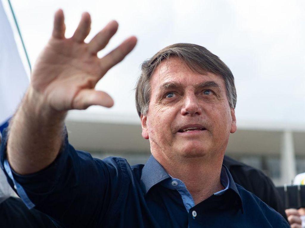 Jejak Presiden Bolsonaro Ikuti Trump untuk Keluar dari WHO