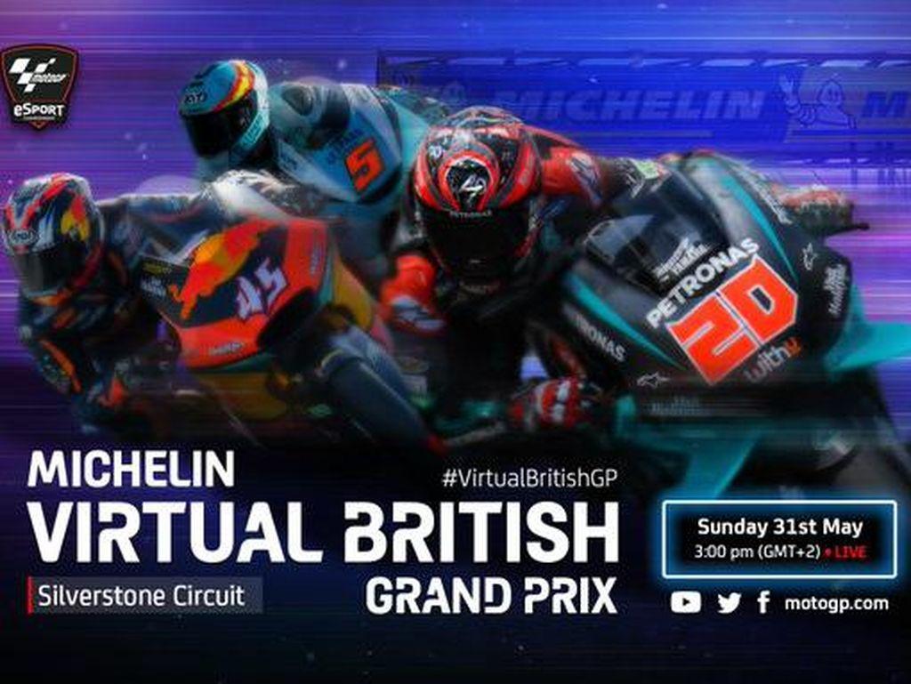 GP Virtual Inggris: Debut Mengesankan Lorenzo, Langsung Juara