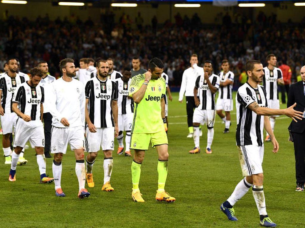 Kelelahan Sumber Malapetaka Juventus di Final Liga Champions 2016/2017