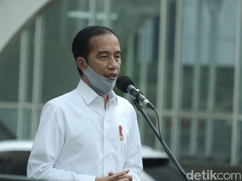 Jokowi Minta Gugus Tugas Konsentrasi Tangani Corona di Jatim-Sulsel-Kalsel