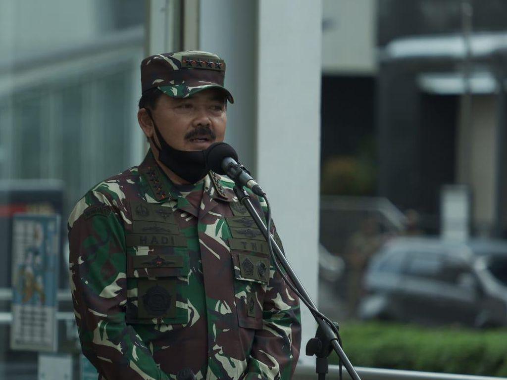 Poin-poin Arahan Panglima TNI soal Gerakan Pendisiplinan Cegah Corona