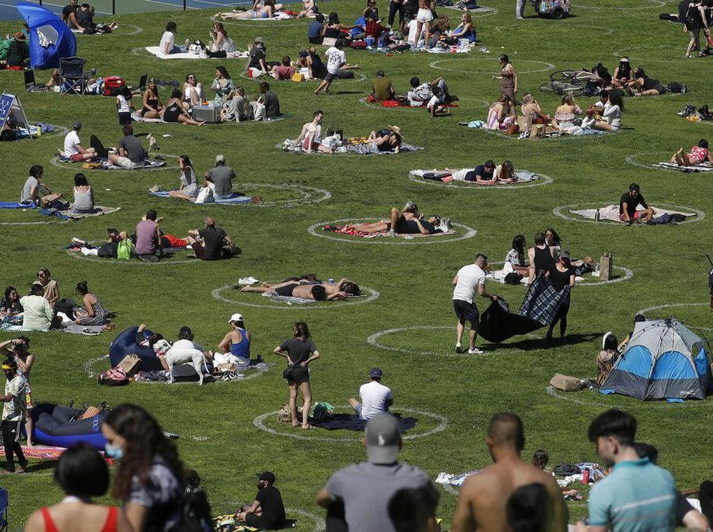 Begini Cara Warga California Melepas Penat di Era New Normal
