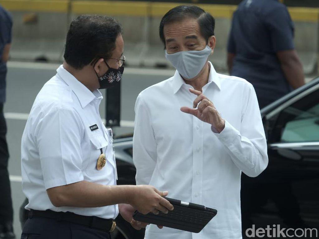 Corona Varian India Jadi Wanti-wanti Jokowi ke Anies