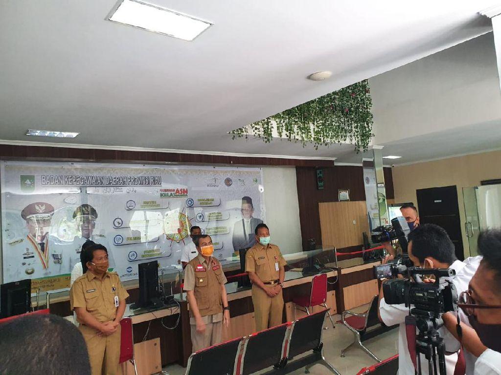 Selain Gubernur, Kepala Dinas-Istri Sekda Riau Juga Positif Corona