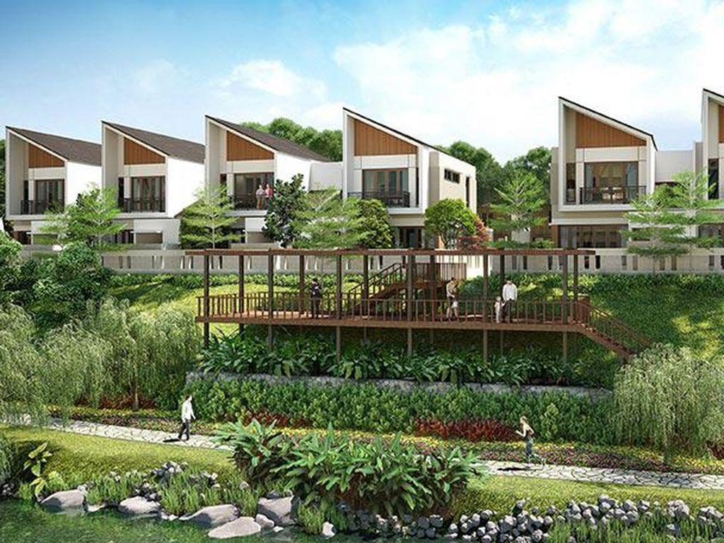 Summer House Kekinian Berfasilitas LRT, Cicilan Mulai Rp 3 Jutaan!