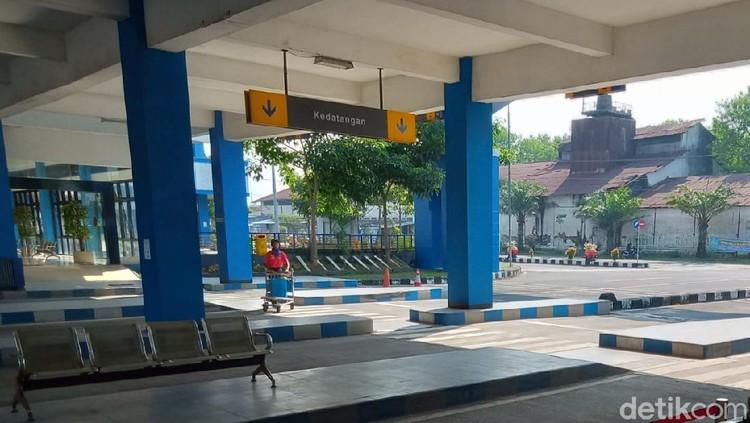 H+2 Lebaran, Terminal di Klaten Sepi Penumpang