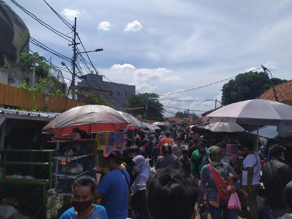 Wagub DKI Cek Kesiapan di Pasar Jatinegara Sebelum Beroperasi