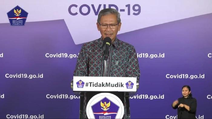 Juru Bicara Pemerintah terkait Penanganan Wabah Virus Corona, Achmad Yurianto