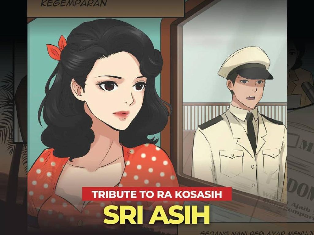 Komik Tribute Sri Asih Rilis Digital
