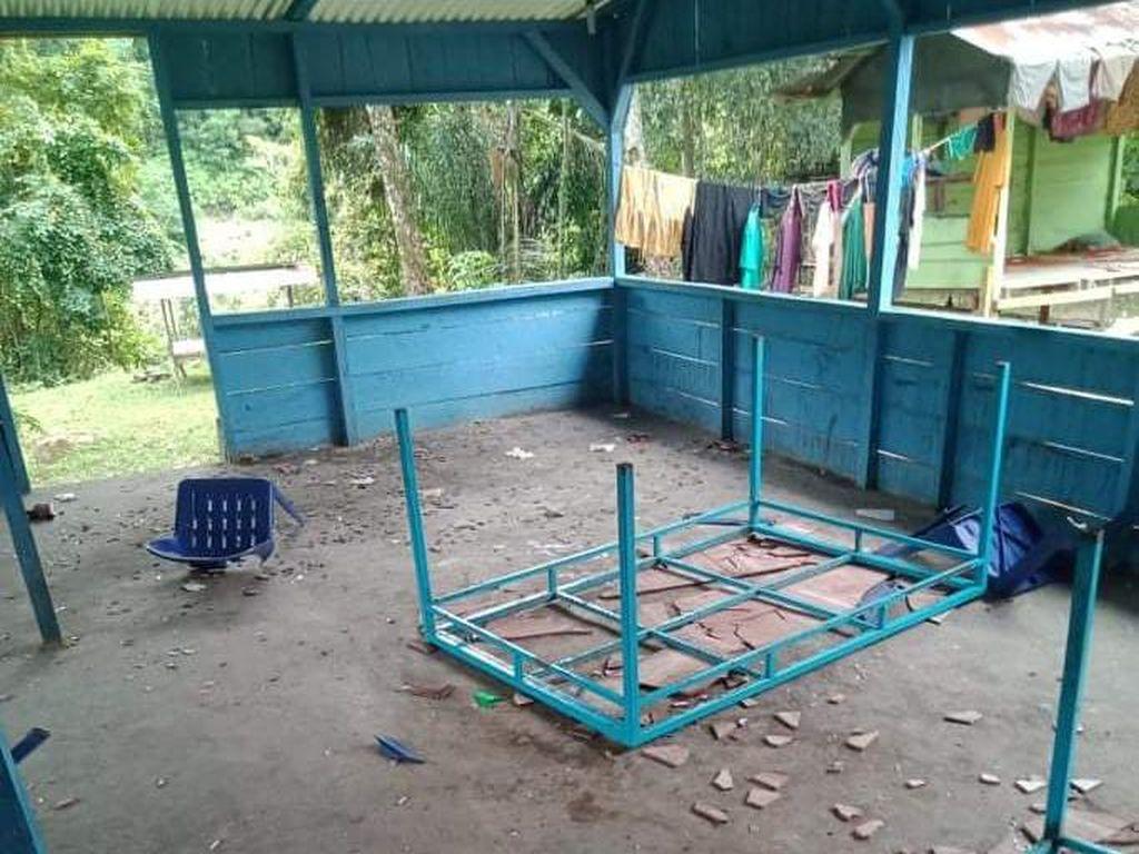 Warung Tuak di Tapteng Dirusak Sekelompok Pemuda, Pemilik Lapor Polisi