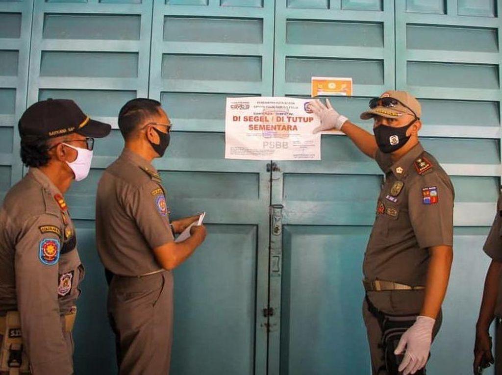Satpol PP Kota Bogor Setor Rp 22 Juta ke Kas Daerah dari Pelanggar PSBB