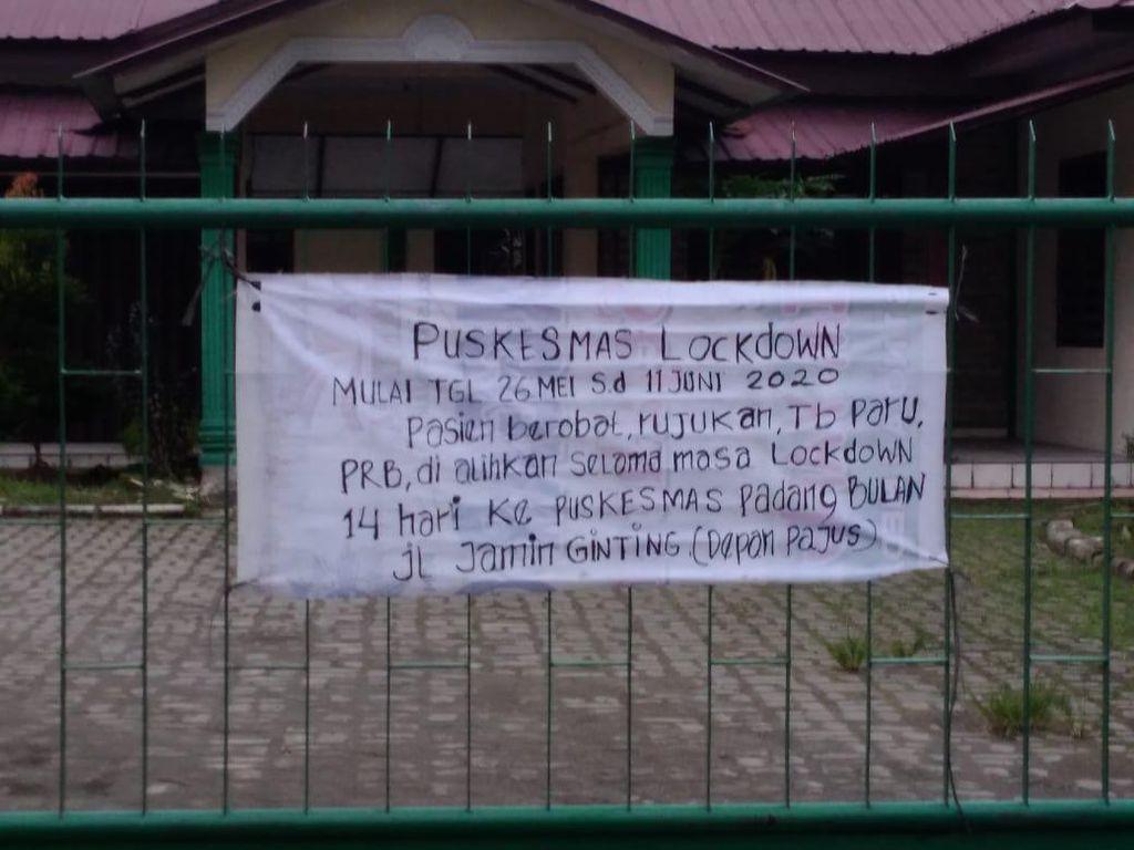 Heboh Puskesmas Lockdown, Pemko Medan: Pengalihan Layanan, Ada Positif Corona