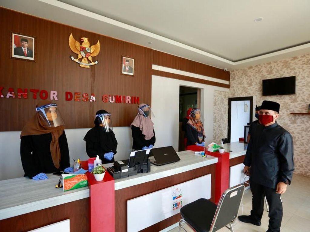 Bupati Anas Keliling Kantor Desa/Kecamatan Cek New Normal Pelayanan Publik
