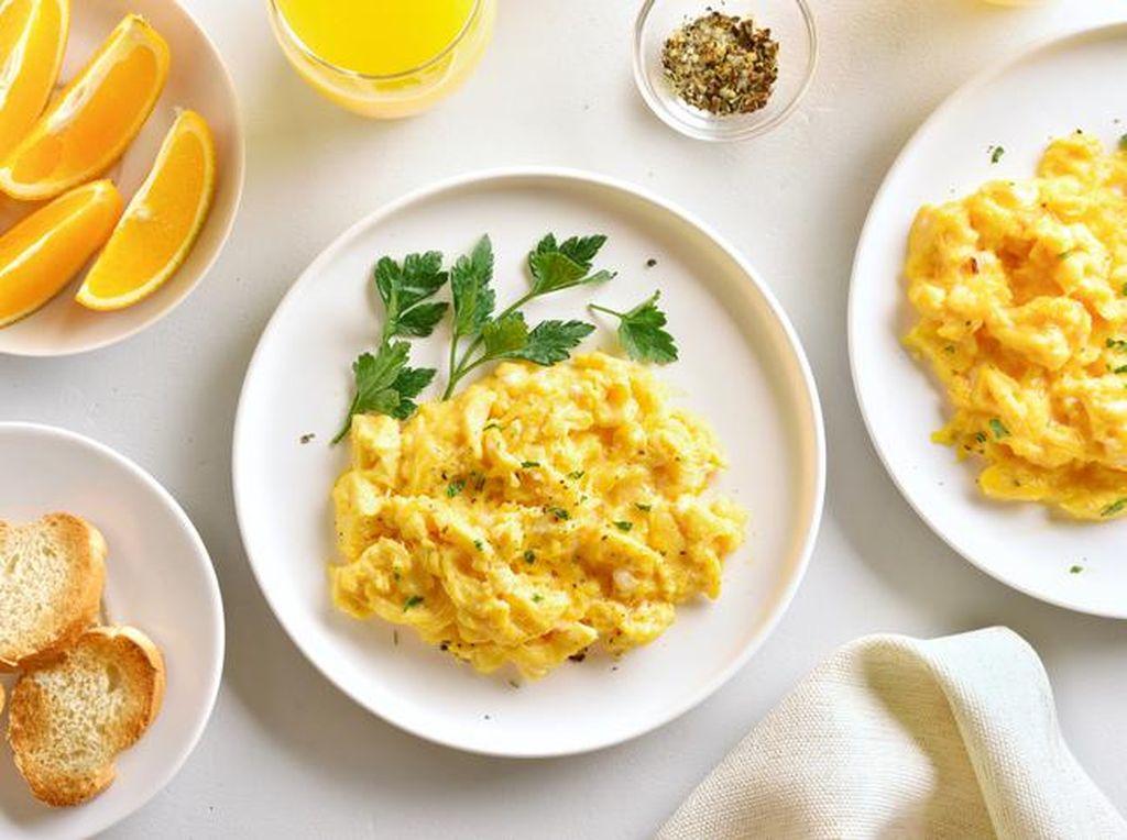 5 Kesalahan Ini Sering Terjadi Saat Bikin Telur Orak-arik