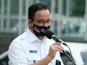 Anies Tarik Rem Darurat Akibat Kasus COVID-19 di Jakarta Makin Gawat