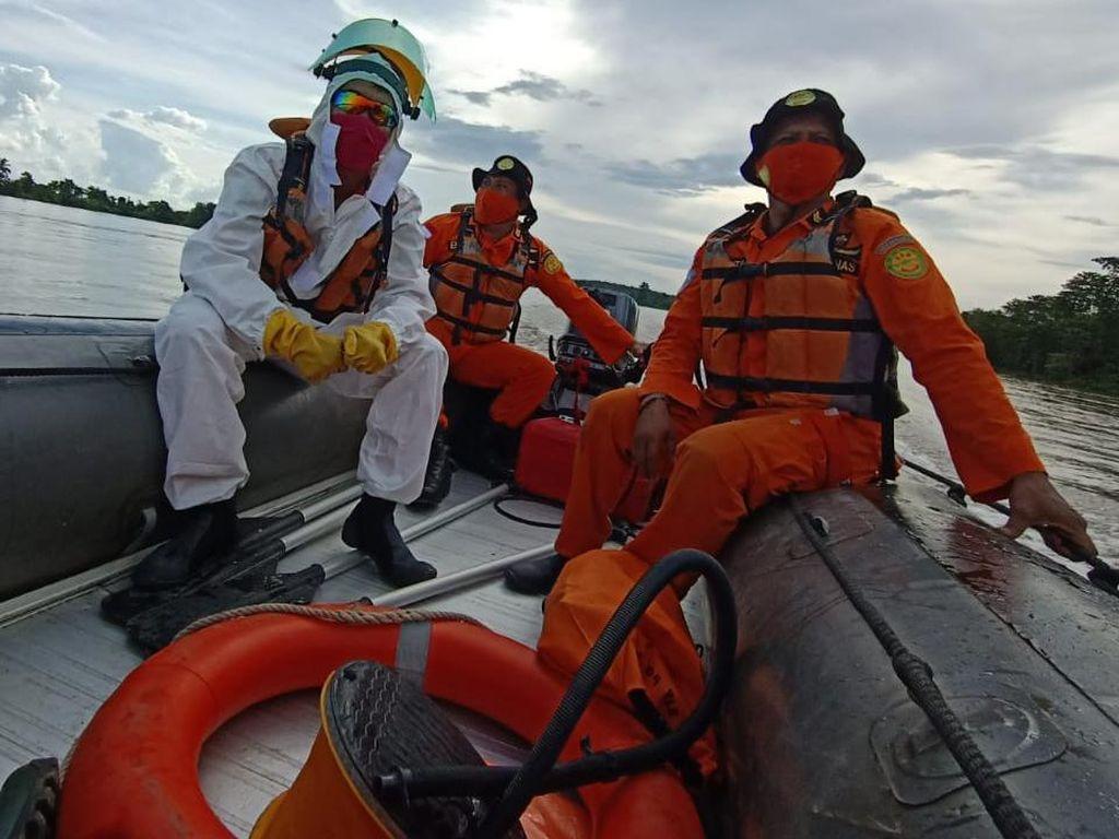 Kapal di Sungai Musi Tenggelam Dihantam Ombak, 1 Penumpang Tewas