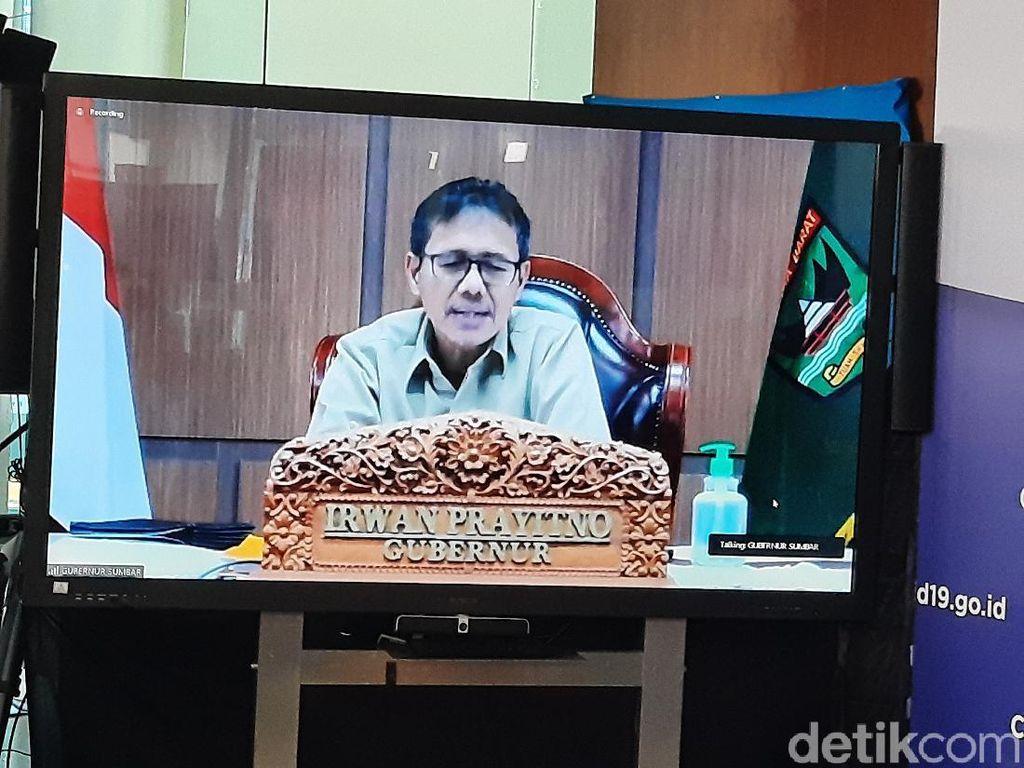 Gubernur Sumbar Imbau Warga Tak Balik ke Perantauan demi Cegah Corona