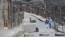 Sempat Ditutup karena Corona, Situs Pompeii Kembali Dibuka