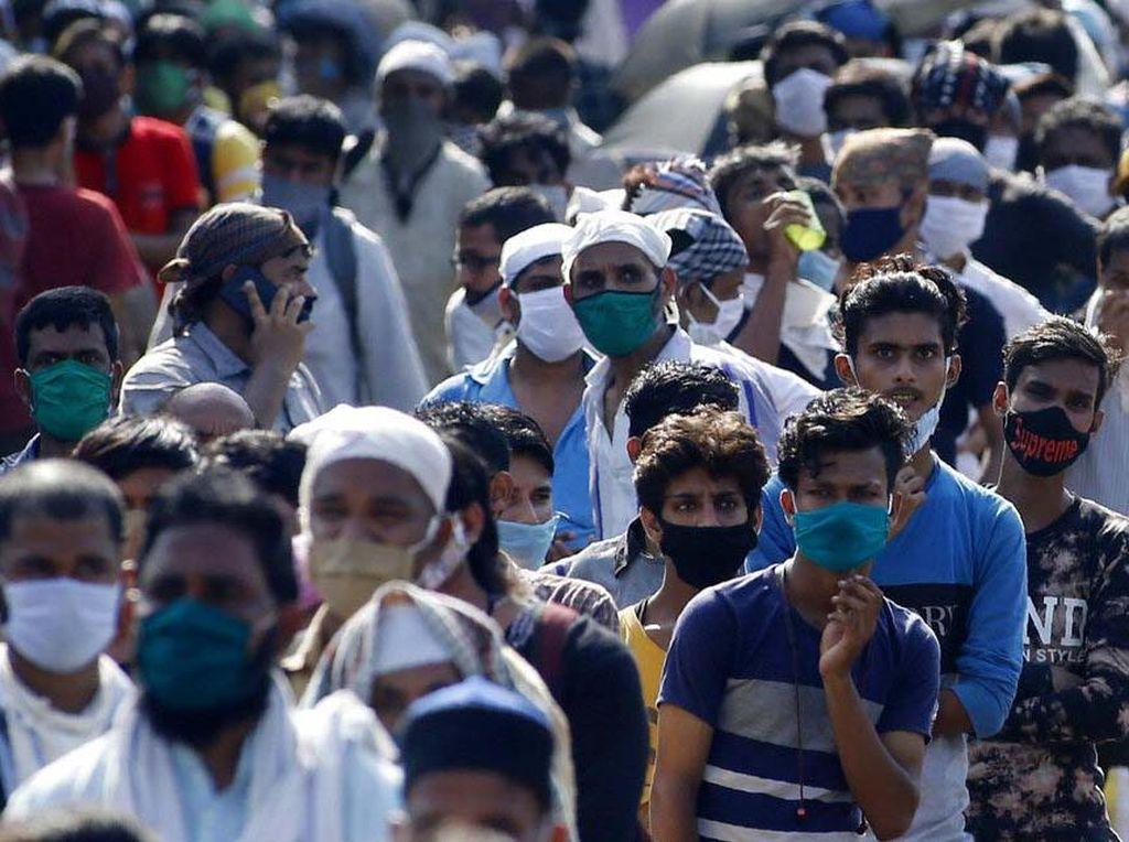 Angka Kematian Akibat Corona di India Kini Lampaui China