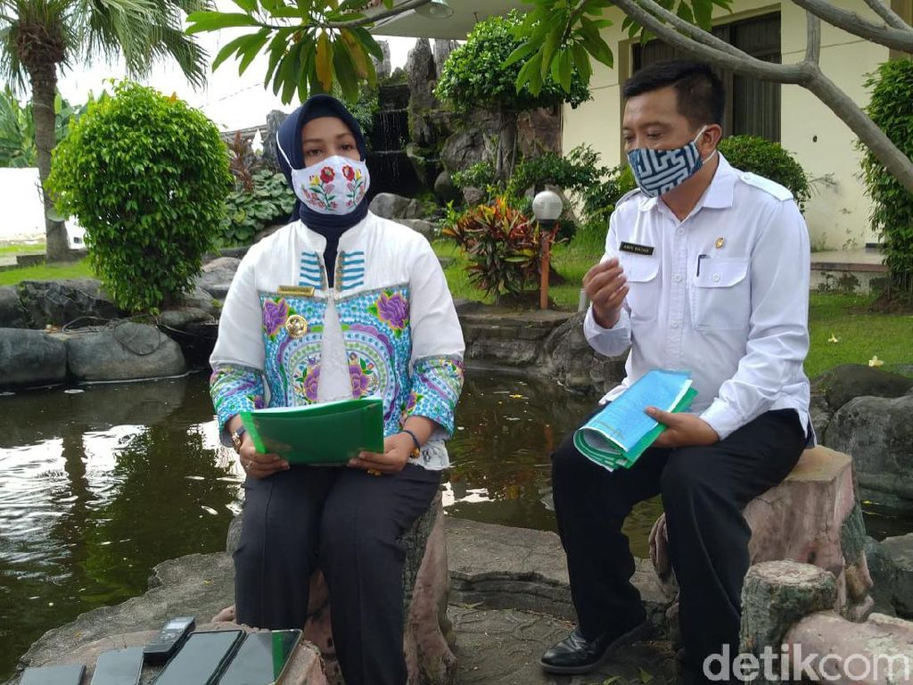 Siswa Tetap Belajar Online Saat The New Normal Diterapkan di Kota Mojokerto