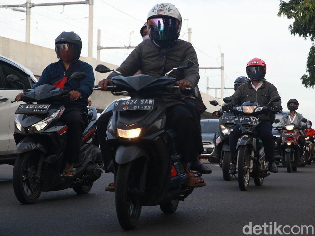 H+3 Idul Fitri, Arus Lalin Menuju Jakarta Ramai Lancar