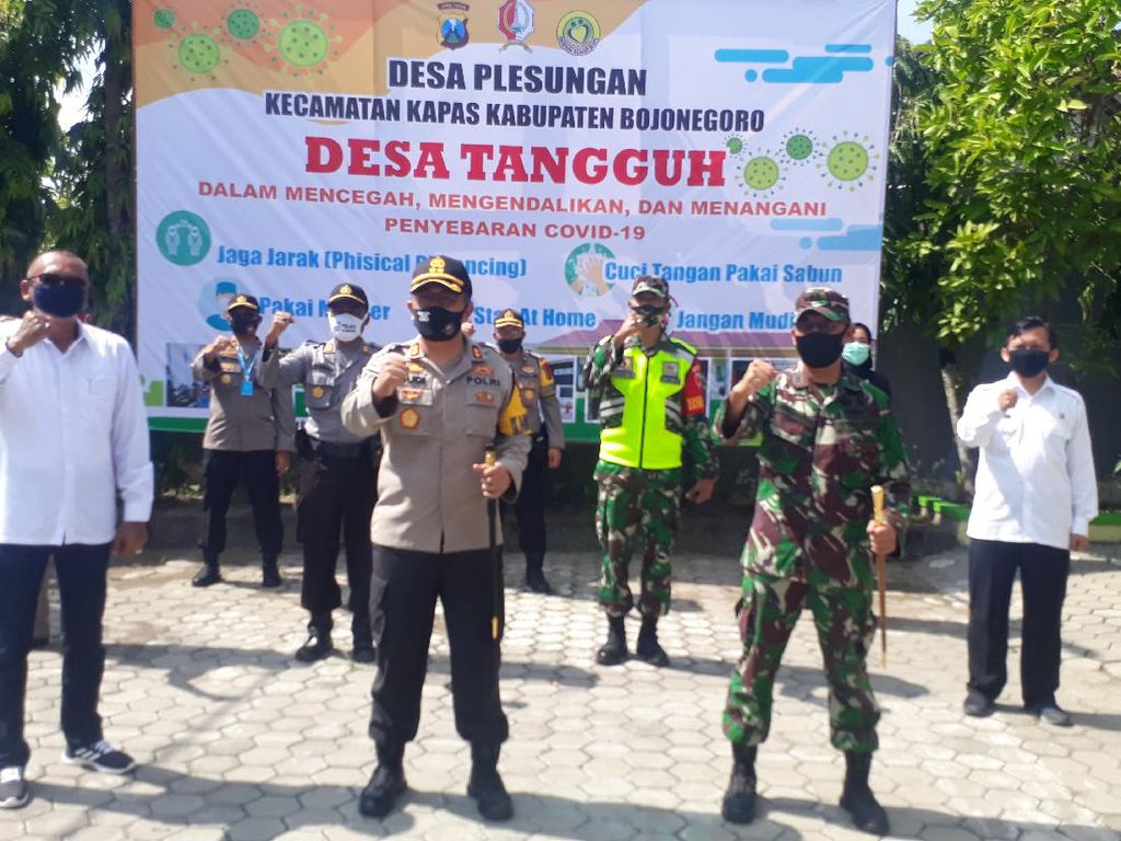 Menengok Kampung Tangguh Bojonegoro, Mampu Rapid Test dan Pemulasaran Jenazah