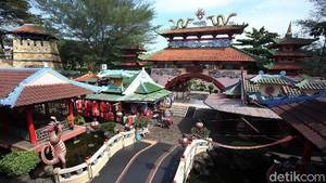 Kampung China Cibubur Sepi Akibat Pandemi Corona