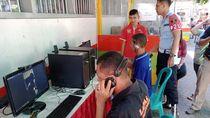Warga Binaan Lapas Banyuwangi Manfaatkan Video Call untuk Berlebaran