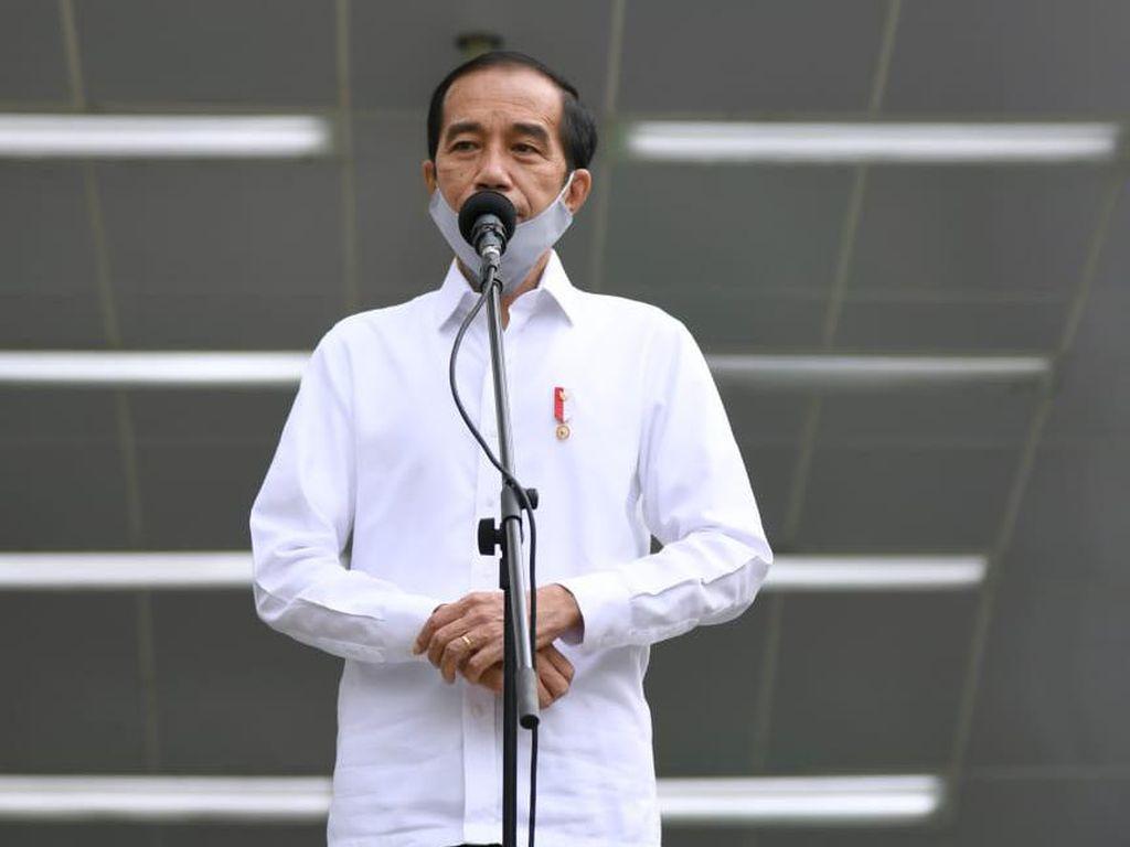 Jokowi: 215 Negara Berlomba Kendalikan Corona, Buktikan Kita Bangsa Pemenang