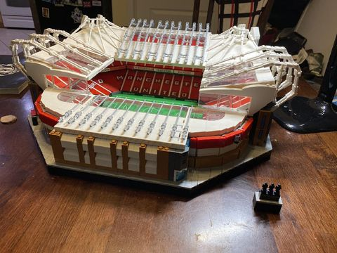Lego replika Old Trafford kandang Manchester United