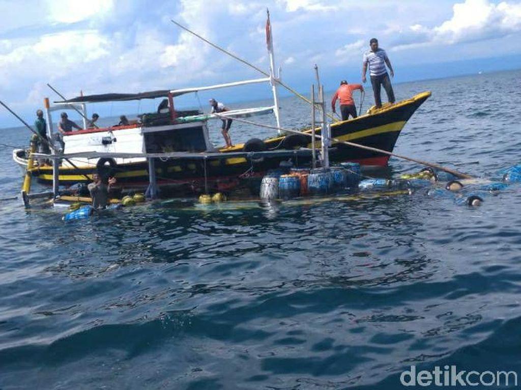Kelebihan Muatan, Kapal Barang Tenggelam di Perairan Kota Probolinggo