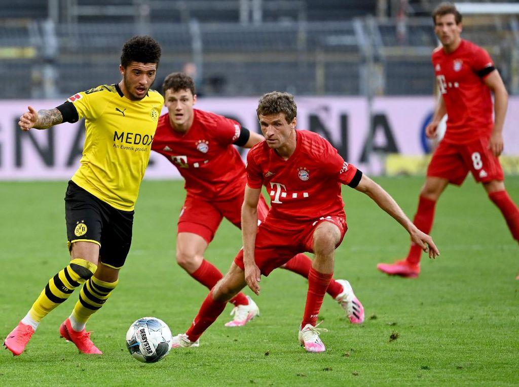 Jadwal Liga Jerman Pekan Ini, Dortmund Vs Bayern Sajiannya