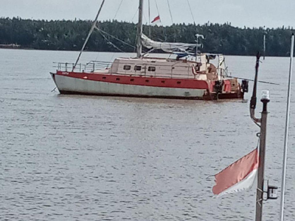 Yacht dari Australia Hendak Menuju Jakarta, Dikemudikan Pelaut 70 Tahun