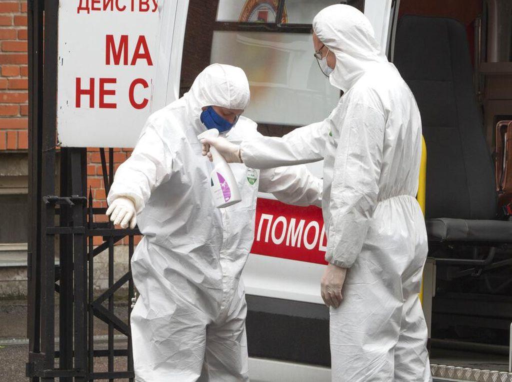 Cetak Rekor Tertinggi, Rusia Catat 12 Ribu Kasus Corona Sehari