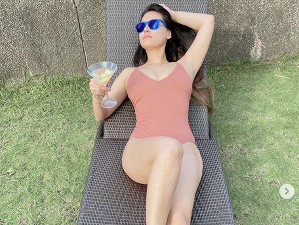 Alkohol dan Berjemur Jadi Hal yang Dirindukan Maria Ozawa