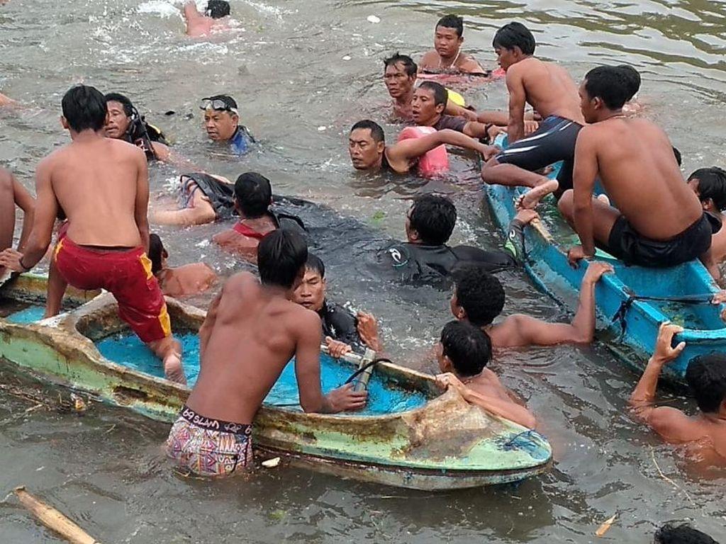 Terseret Arus Hilir Sungai Sangsang, Pria Tenggelam di Pantai Lebih Gianyar