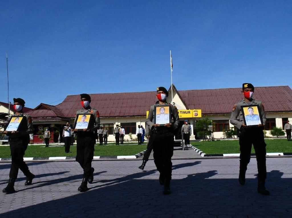 Tersandung Kasus Narkoba-Desersi, 5 Anggota Polres Aceh Timur Dipecat