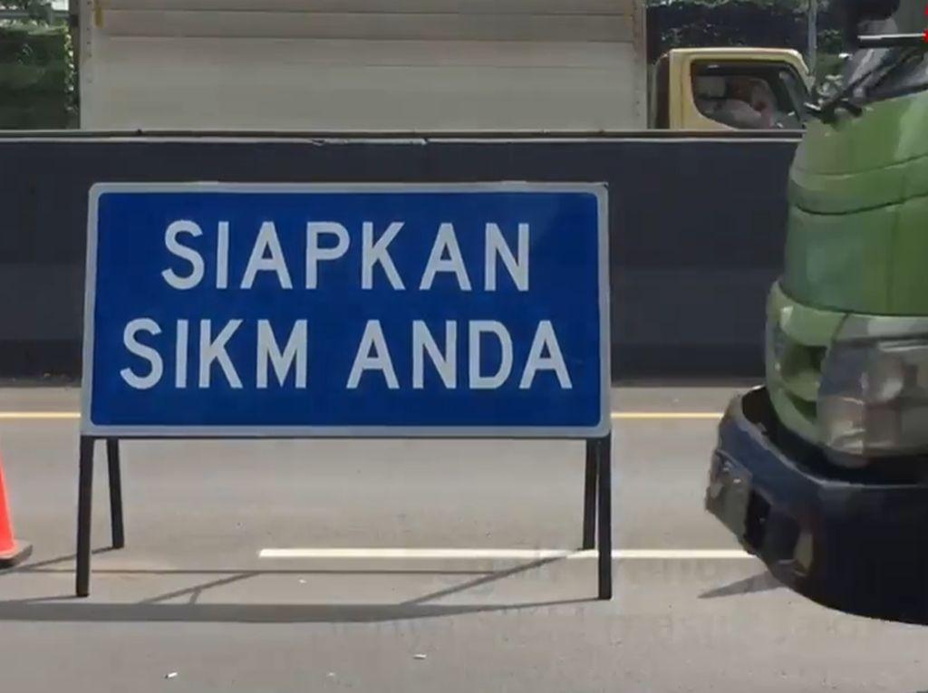 Hari Ini Sudah 824 Kendaraan Diputar Balik di Tol Japek Km 47