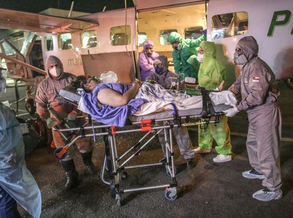 AS Catatkan 600.000 Kematian, Ini 10 Negara Paling Terdampak COVID-19