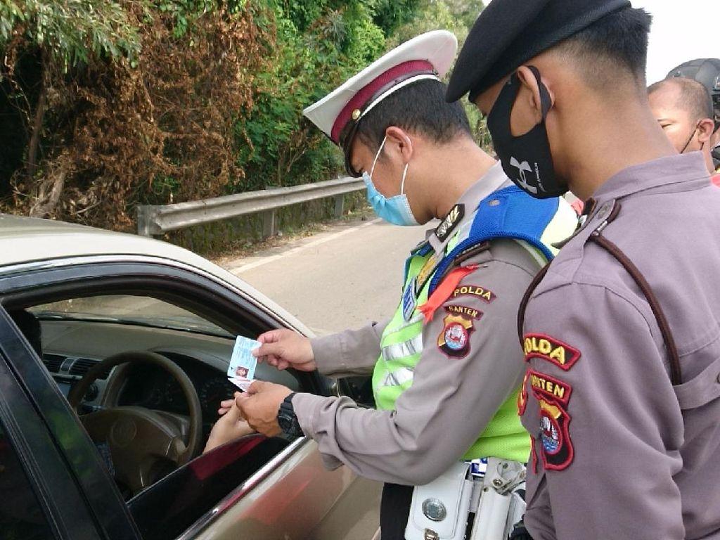 Hari Ke-34 Operasi Ketupat, Polisi Putar Balik 8.771 Kendaraan di Banten