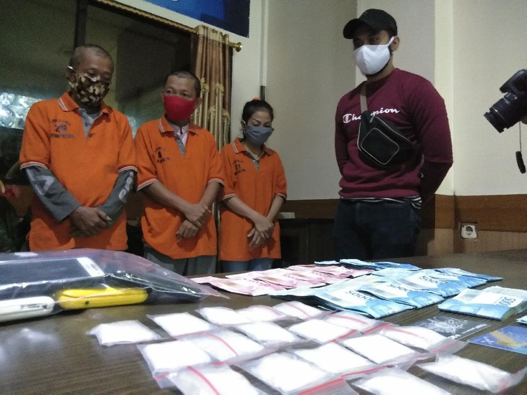 Istri Ditangkap Bisnis Narkoba, Sang Suami Lanjut Jual Sabu Ajak Keluarga