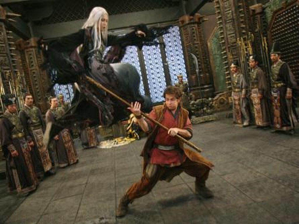 Sinopsis Film Forbidden Kingdom yang Dibintangi Jackie Chan dan Jet Li