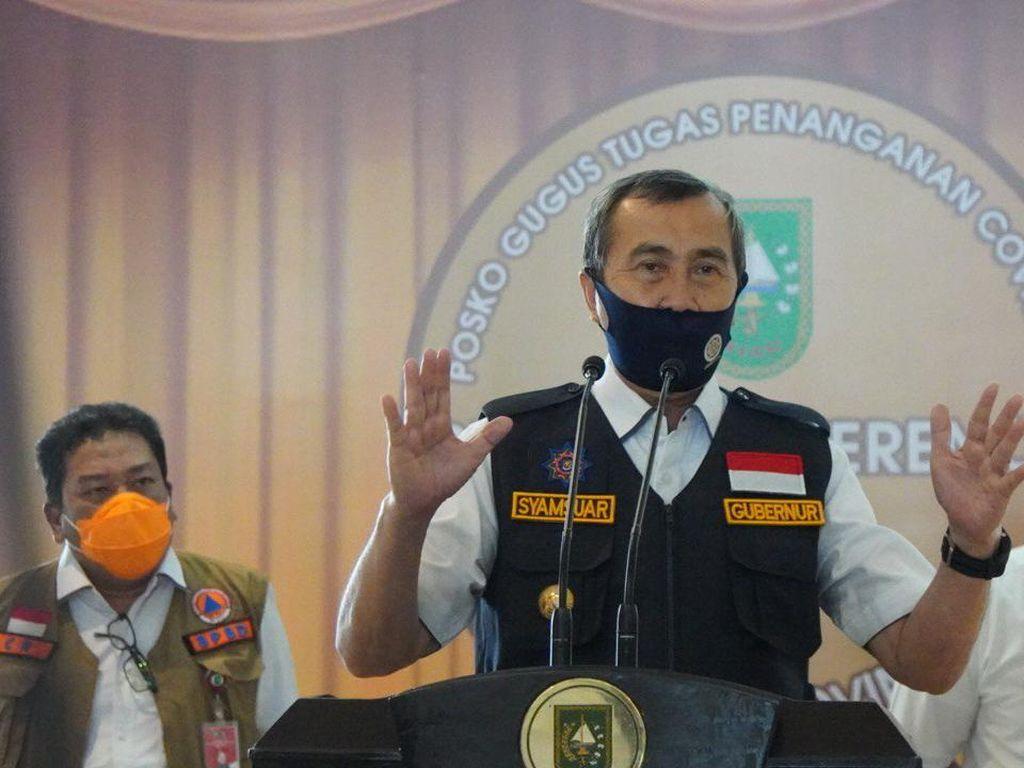 Positif Corona, Gubernur Riau Syamsuar dan Istri Dirawat di RS