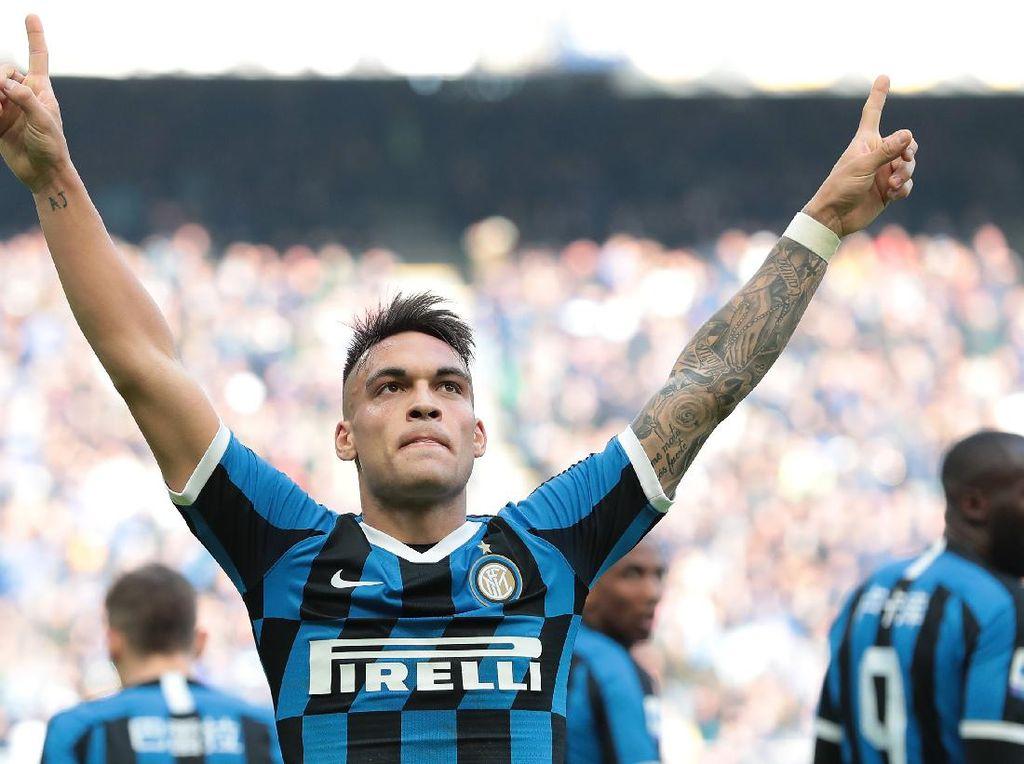 Lautaro Mau Zona Nyaman di Inter atau Main Bareng Messi?