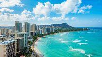 Hari Pertama Tanpa Karantina, Hawaii Diserbu 8.000 Lebih Turis
