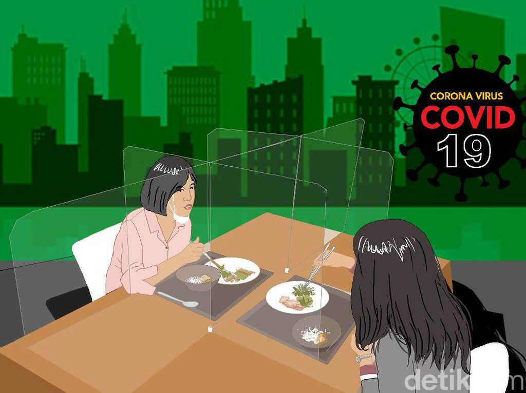 Bahaya Penularan COVID-19 Melalui Makanan, Ini Pencegahannya